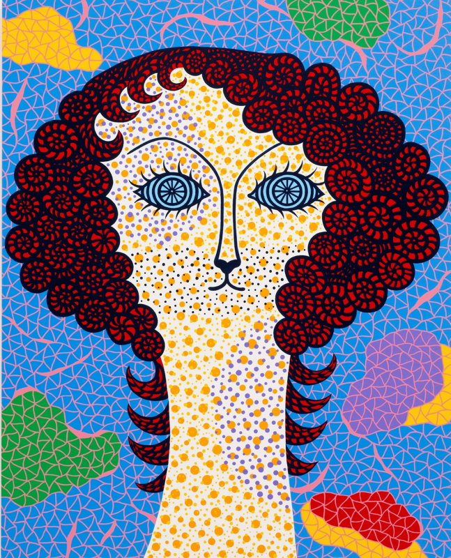 Kusama Yaei. SELF-PORTRAIT