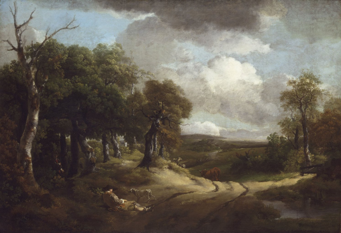 Thomas Gainsborough. Rest on the way