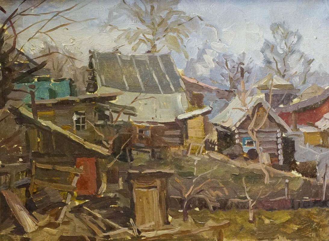 Alexey Alekseevich Drilev. Old Barnaul
