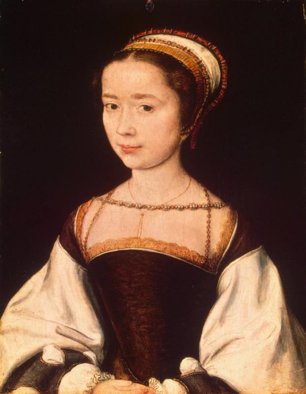Cornel de Lyon. Female portrait