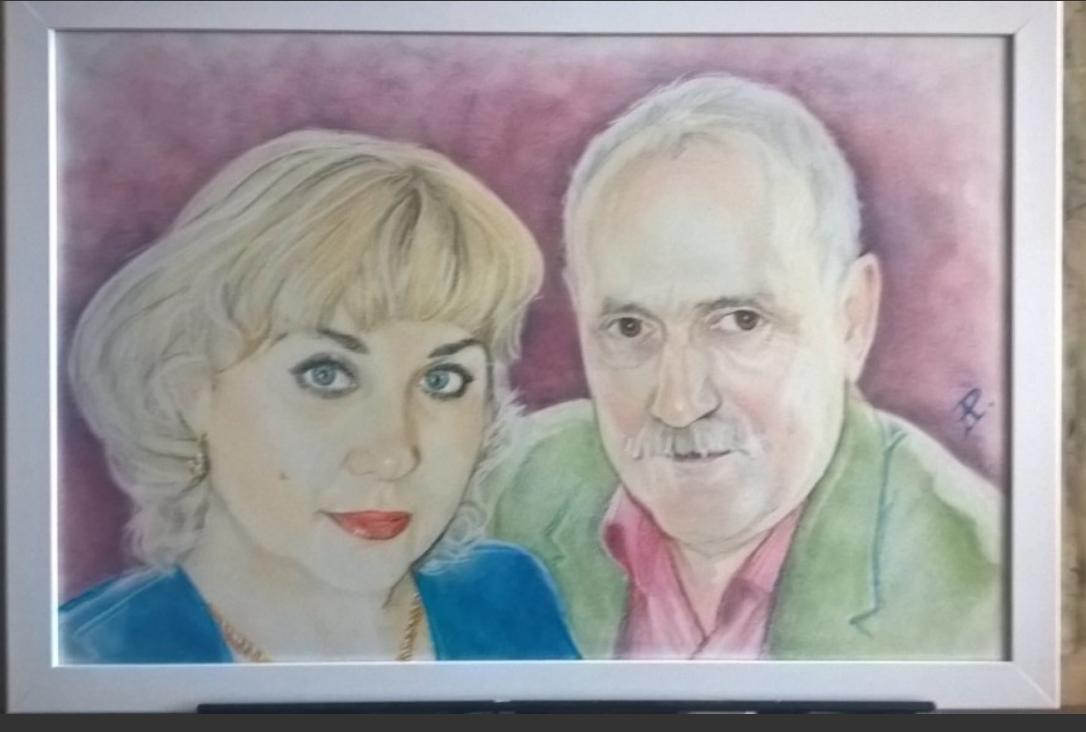 Anatoly Alexandrovich Rybakov. Family portrait