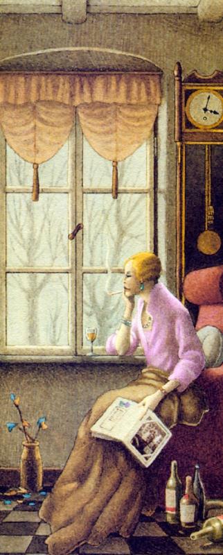 Роберто Инноченти. Девушка у окна