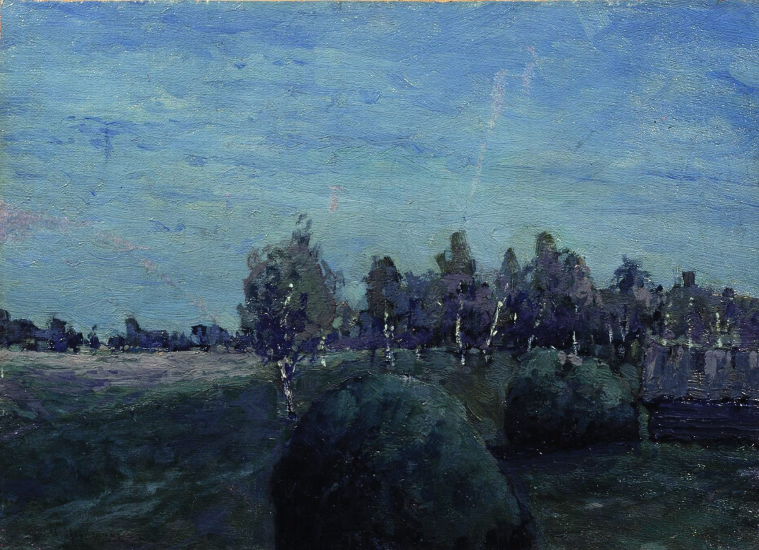 Исаак Ильич Левитан. Лунный пейзаж