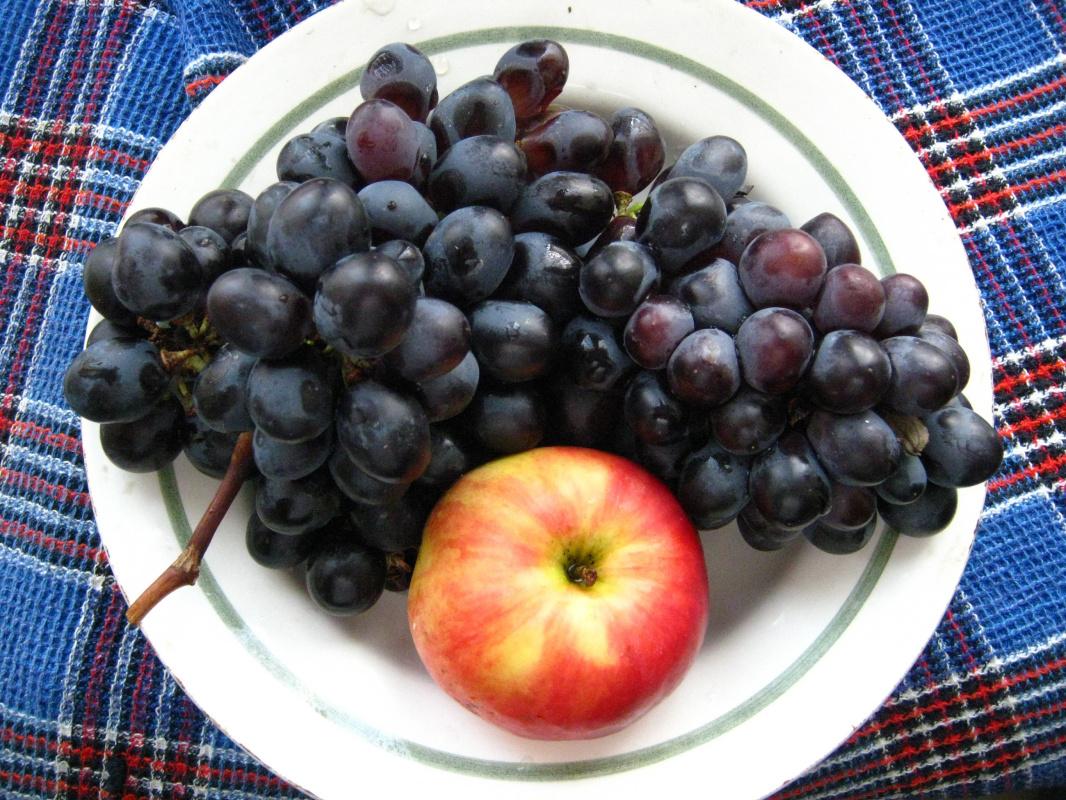 Алексей Гришанков (Alegri). Apple and grape
