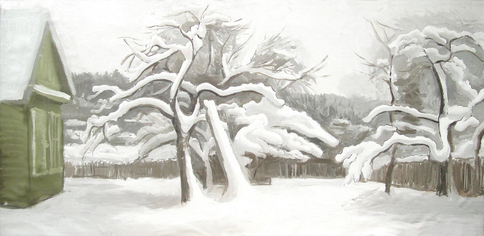 Igor Vladimirovich Mashin. In the winter garden