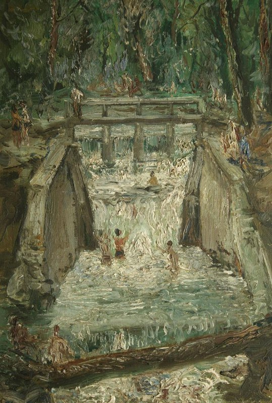 Vladimir Ilyich Portyanoy. Waterfall