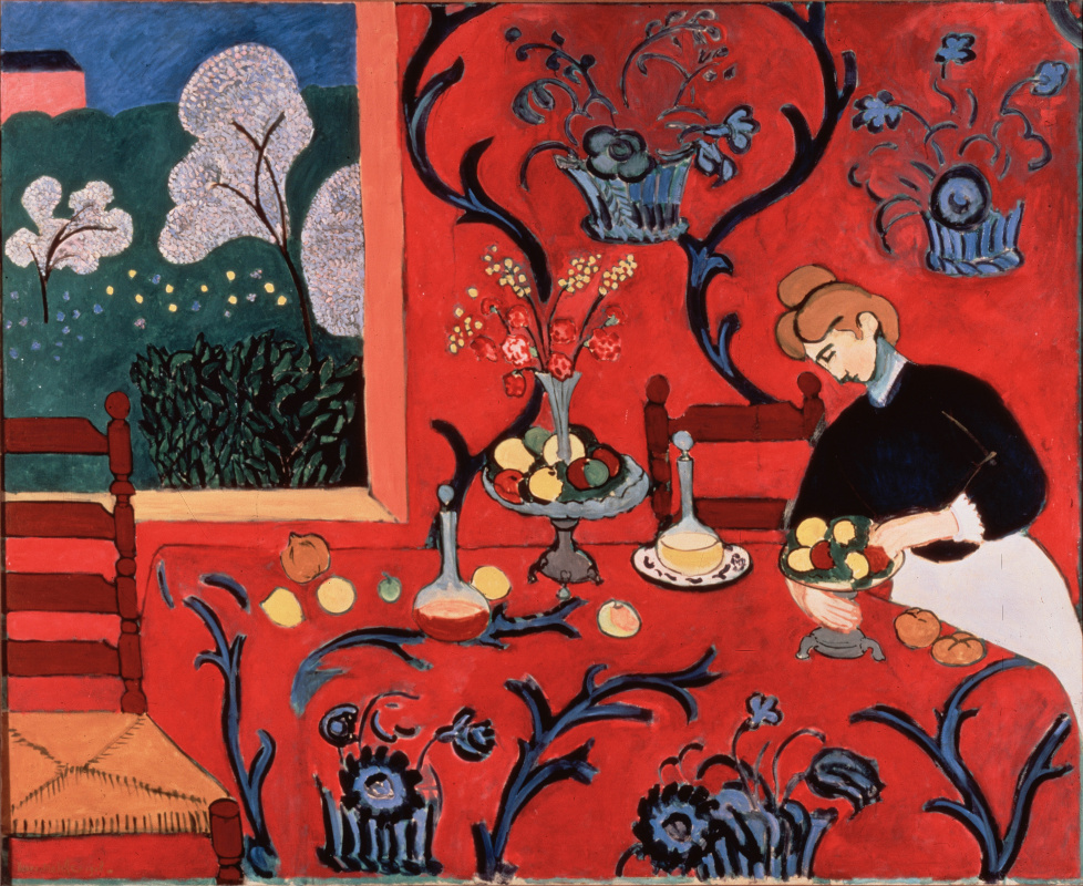 Henri Matisse. Harmony in red