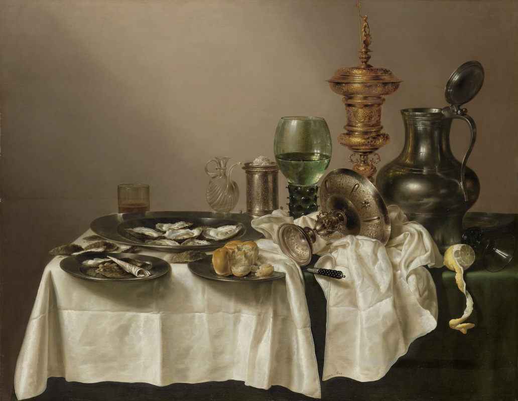 Willem Claesz Heda. Still life with gilded Cup