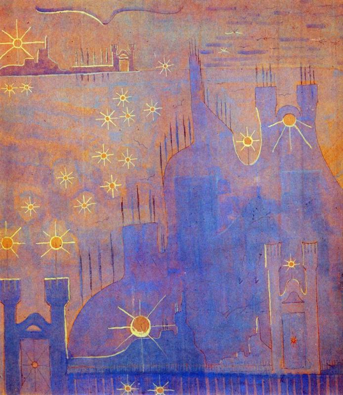 Mikalojus Konstantinas Ciurlionis. Sonata of the sun. Allegro