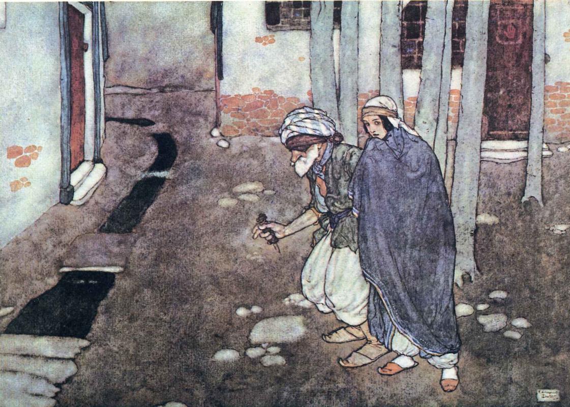 Эдмунд Дюлак. Сказка Али-Баба и сорок разбойников 02