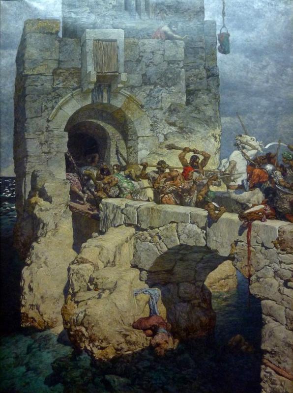 Александр Ротхауг. Битва на мосту.