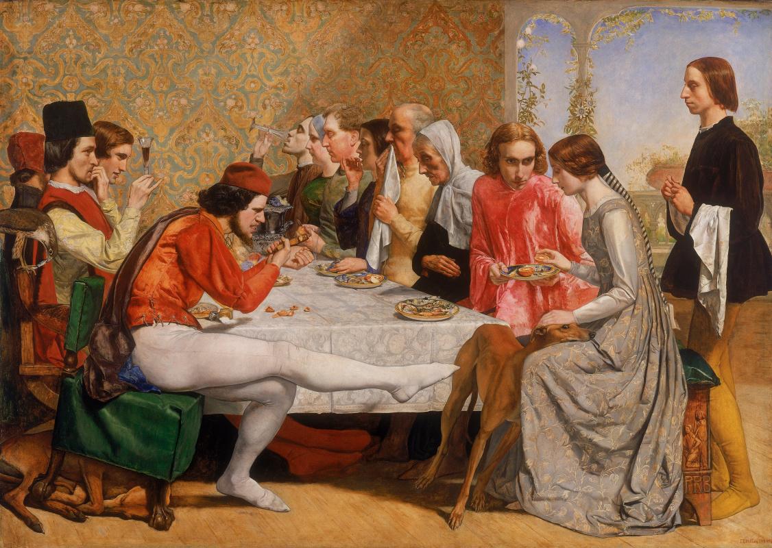 John Everett Millais. Lorenzo and Isabella