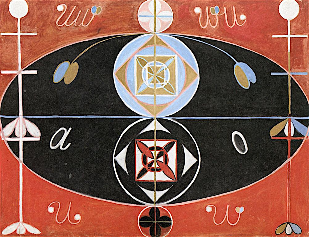 """Hilma af Klint. Series """"Evolution"""", №16"""