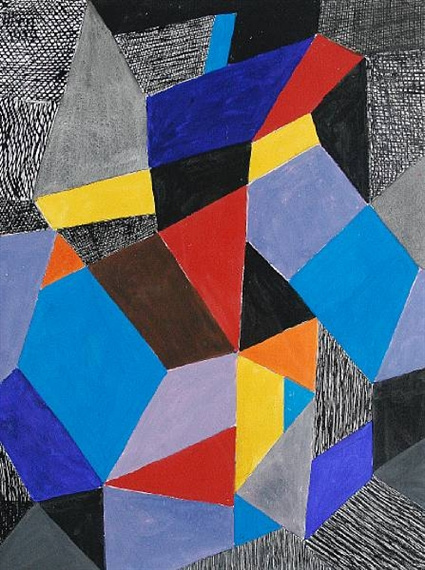 Johannes Itten. The color of the form and structure