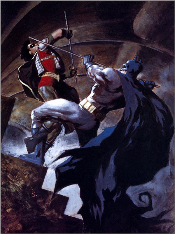 Битва Бетмена
