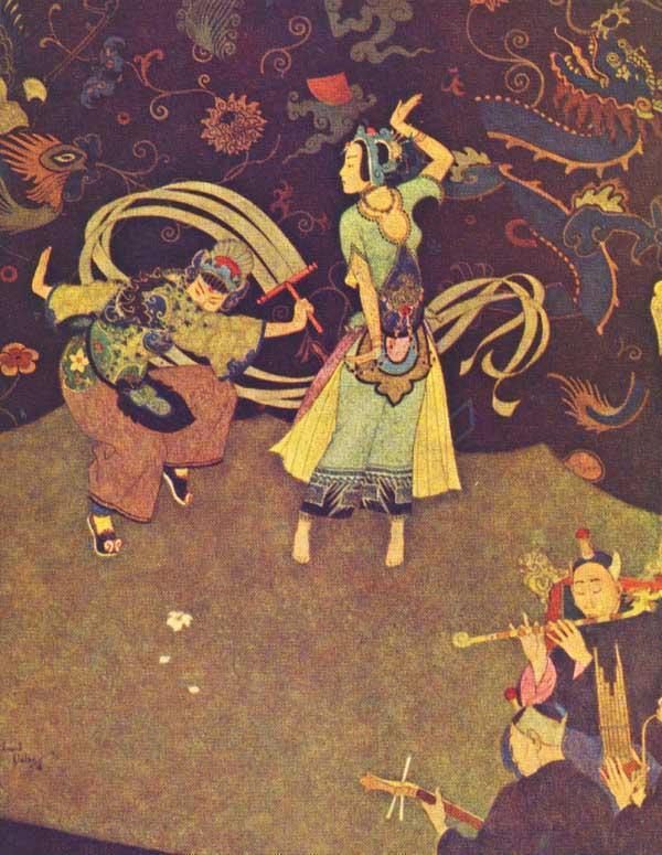 Эдмунд Дюлак. Танец