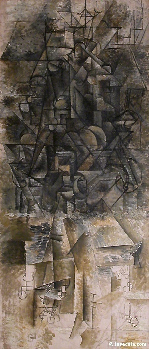 Пабло Пикассо. Мандолина
