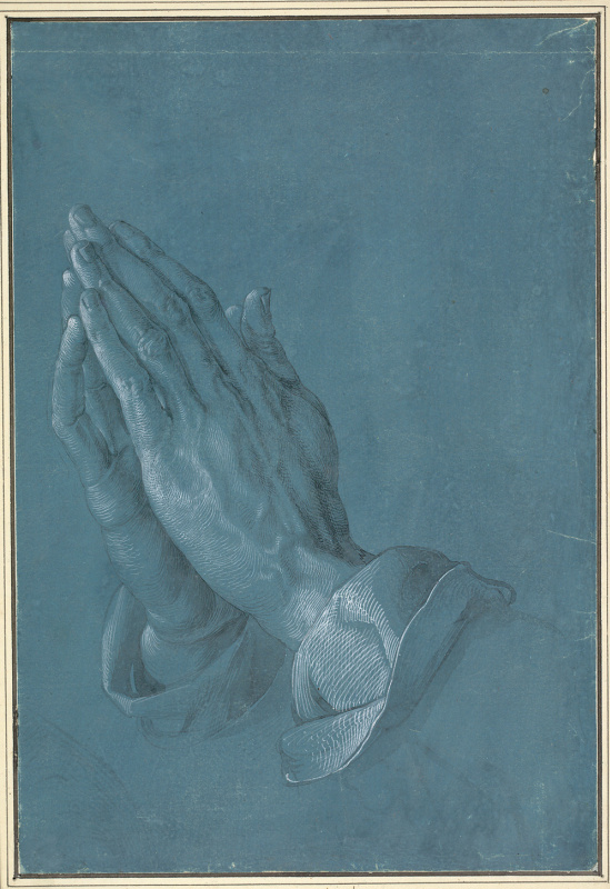 Albrecht Dürer. Hands of the Prayer (Hands of the Apostle)