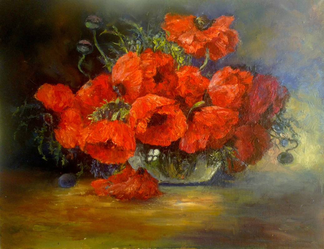 Svetlana Pavlovna Monich. Poppies