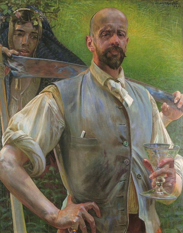 Яцек Мальчевский. Автопортрет со смертью