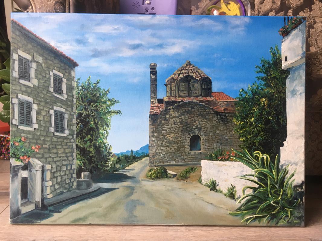 Julia Merkushina. Greece, Peloponnese.