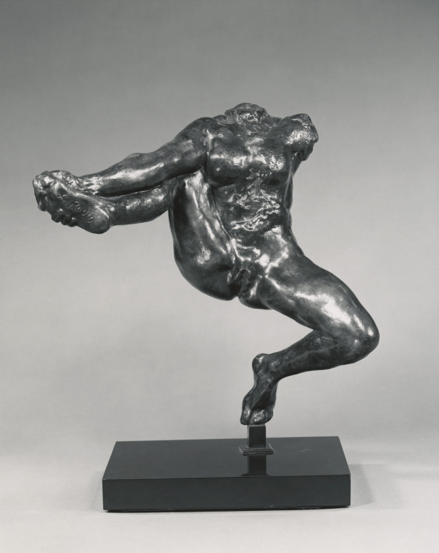 Auguste Rodin. Iris, messenger of the gods
