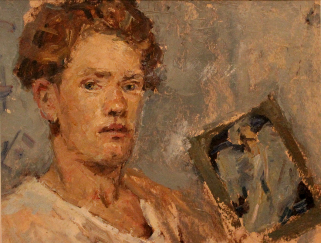 Victor Fedorovich Chudin. Self-portrait