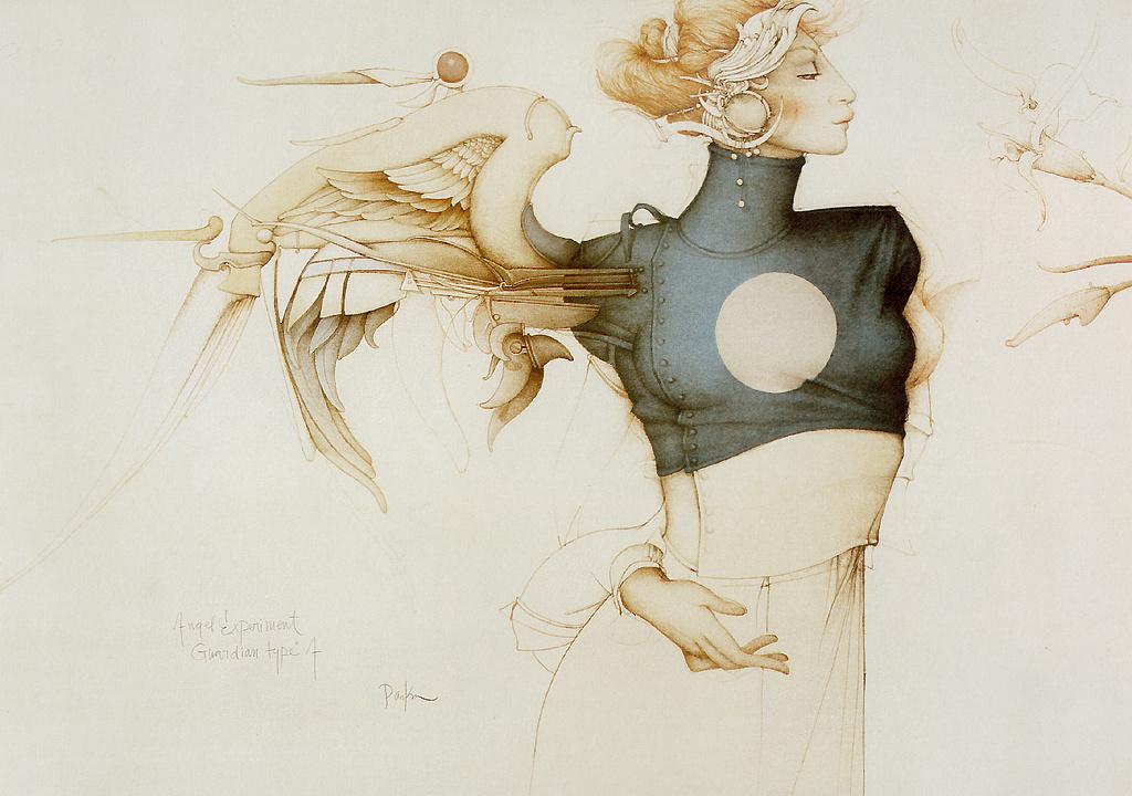 Michael Parkes. The angel experiment