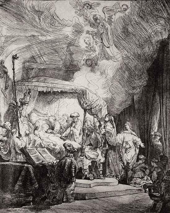 Рембрандт Ван Рейн. Смерть Марии