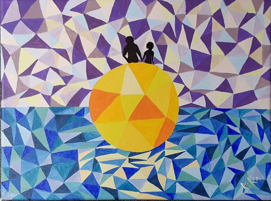Kira Ivanishcheva. The sun for two.