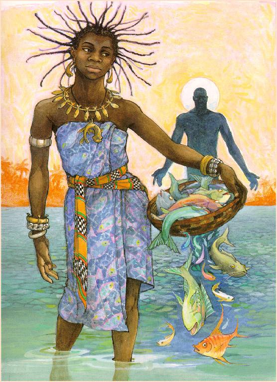 Трина Шарт Хайман. Рыба и вода