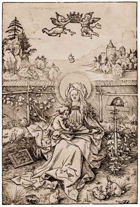 Hans Wehtlin. Madonna on the turf bench