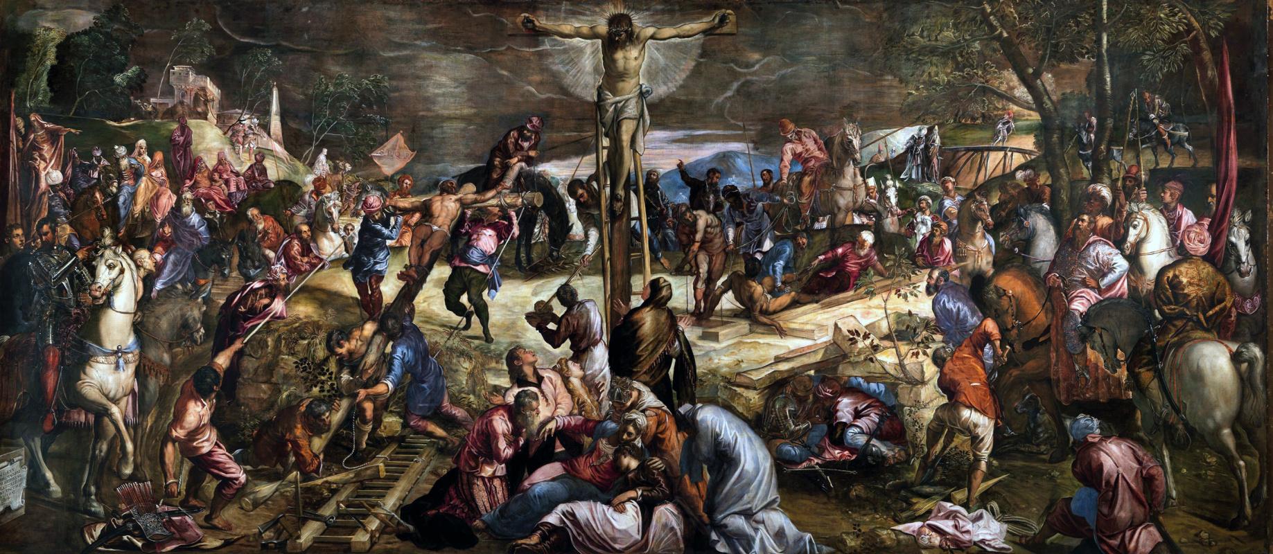 Jacopo (Robusti) Tintoretto. Crucifixion of Christ
