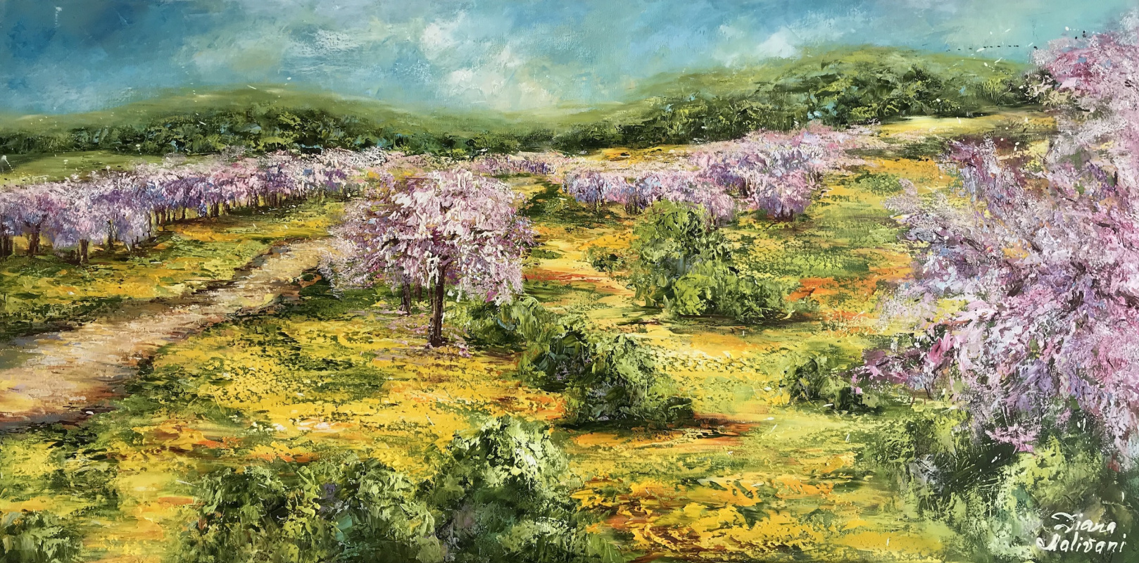 Диана Владимировна Маливани. Blooming Gardens