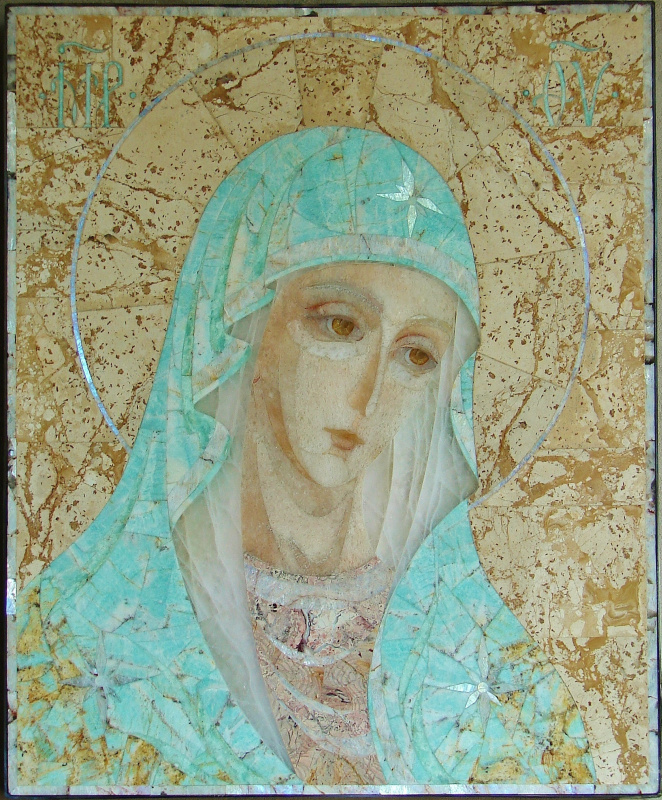 """Aleksey Zagorsky. """"Our Lady Of Tenderness"""""""
