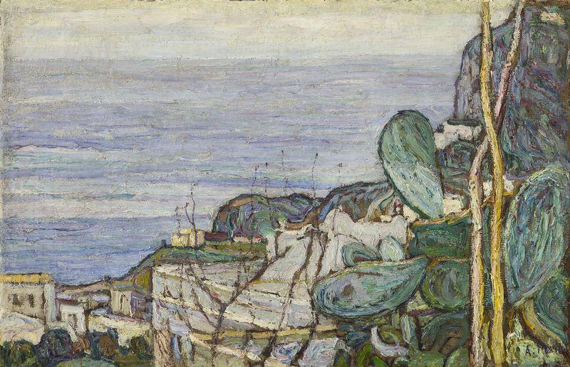 Абрам Аншелевич Маневич. Capri