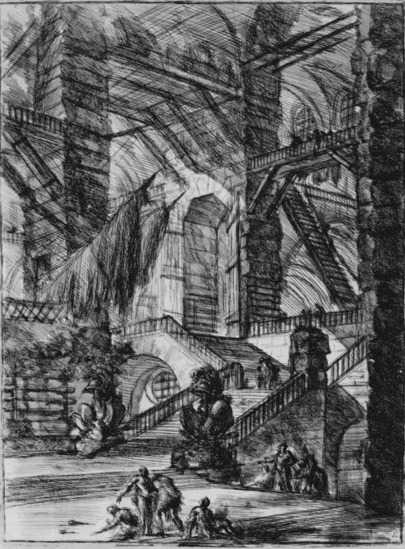 Giovanni Battista Piranesi. A series of Prisons, sheet VIII