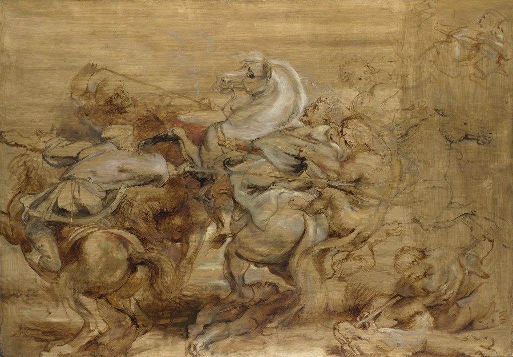 Peter Paul Rubens. The Lion Hunt