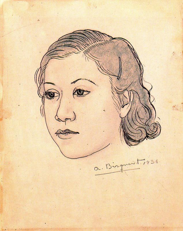 Антонио Бискуерт. Голова девушки