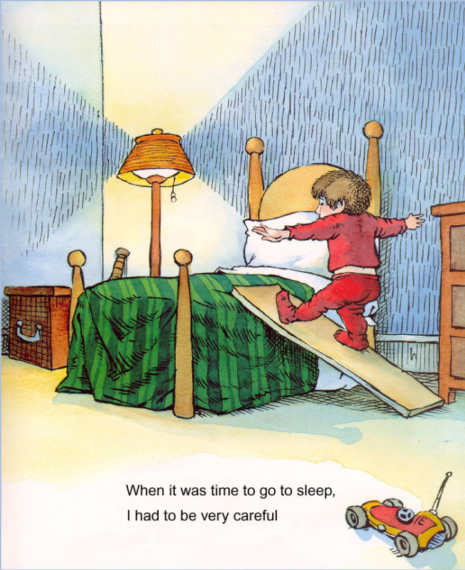 Мерсер Мейер. Иллюстрация к книге Там крокодил под моей кроватью 03