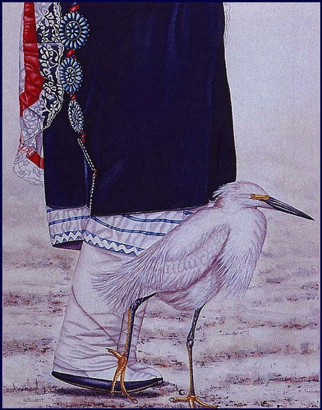 Сюзан Ле Лук. Птица