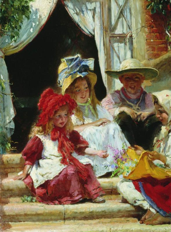 Konstantin Makovsky. Children