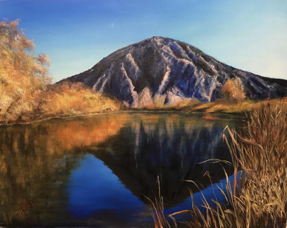 Svetlana Arkhipova. Mount Jurak Tau