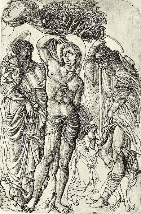 Жан Дюве. Святые Себастьян