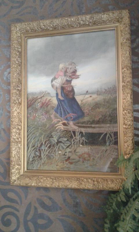Лапина Н.Ф.. Дети бегущие от грозы