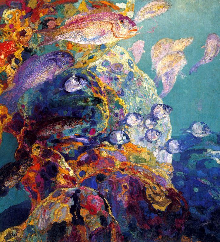 Эрменехильдо Англада Камараса. Подводный мир
