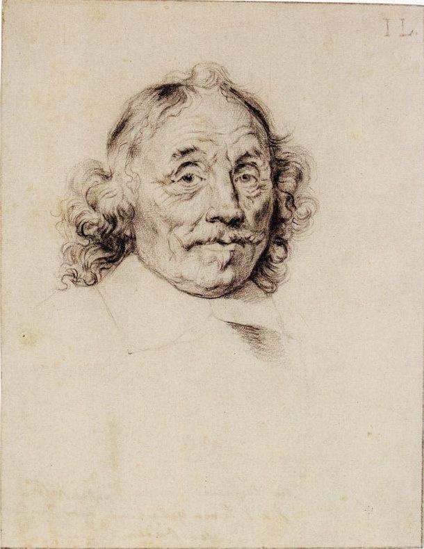 Ян Ливенс. Портрет адмирала Тромпа