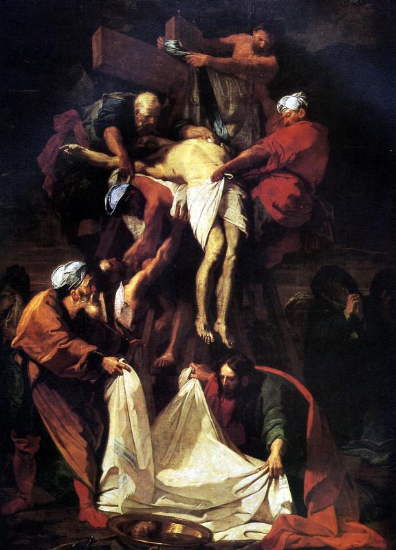 Жан Жувене. Снятие со креста