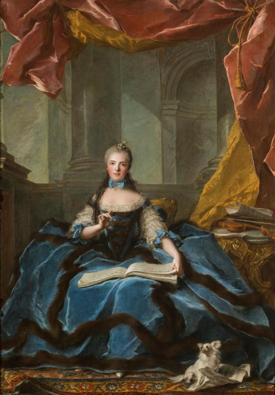 Жан-Марк Натье. Мадам Мария Аделаида Французская, дочь Людовика XV