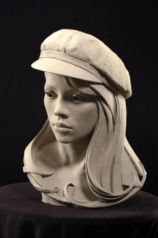 Филипп Фаро. Портретная скульптура 19